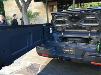 The 2017 Honda Ridgeline In-Bed Trunk