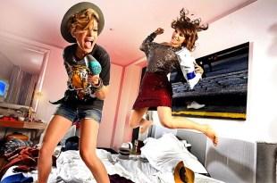 Duas vencedoras do reality show Amici: Emma Marrone e Alessandra Amoroso