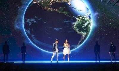 Michele Perniola e Anita Simoncini ensaiaram pela primeira vez no palco do Eurovision