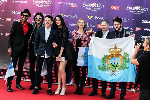 San Marino Anita Simoncini Michele Perniola  Opening Ceremony Eurovision