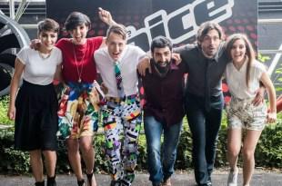 Os finalistas do The Voice Of Italy 2015