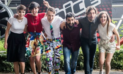 Os finalistas do The Voice Of Italy 2015