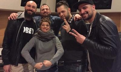 O grupo Boom Da Bash conta com a participação de Alessandra Amoroso no seu novo álbum
