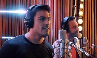 Carlos RIvera e Francisco León gravam videoclipe da parceria Yo SIn Ti