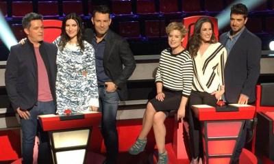 Alejandro Sanz, Laura Pausini, Malú e Antonio Orozco são os coaches da terceira edição do La Voz Espanha