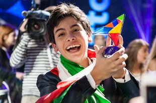 Vincenzo deu à Itália o título no Junior Eurovision de 2014.