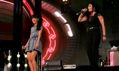 Com Giusy Ferreri, Baby K conquistou seu terceiro disco de platina