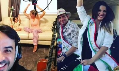 O melhor do Instagram das estrelas da música latina e da música italiana, com Luis Fonsi, Maite Perroni e muito mais