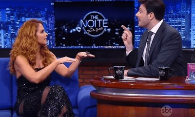 Entrevista de Lucero a Danilo Gentili leva SBT a liderança na audiência