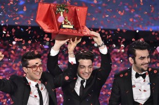 Trio Il Volo foi o vencedor do Festival de Sanremo 2015