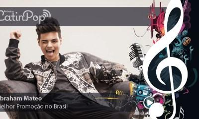 Em 2015, não tem artista que tenha se divulgado tão bem no Brasil quanto Abraham Mateo