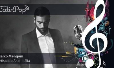 O artista do ano em 2015 na Itália foi Marco Mengoni