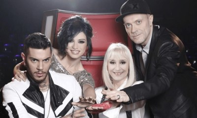 Emis Killa, Dolcenera, Raffaellà Carrá e Max Pezzali são os novos jurados do The Voice Of Italy