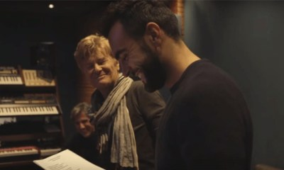 Marco Mengoni é um dos artistas no álbum comemorativo de Ron