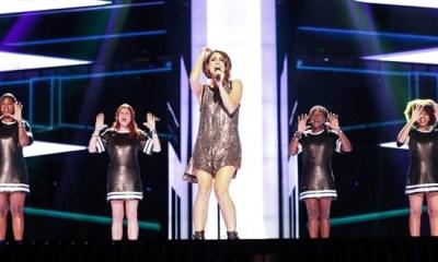 Barei já fez sua estreia no palco do Eurovision