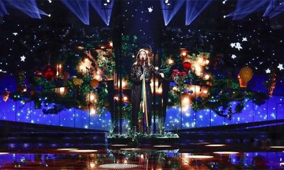 Ensaio de Francesca Michielin, representante da Itália no Eurovision Song Contest 2016, em Estocolmo