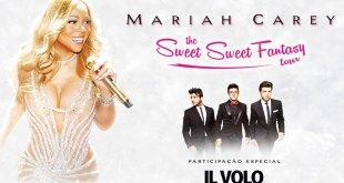 Shopping irá distribuir ingressos do show de Mariah Carey com o Il Volo