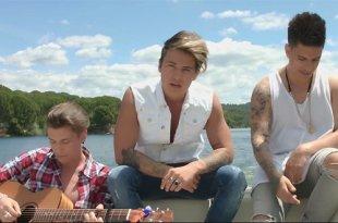 Benji & Fede junto com Xriz, no video clipe de Eres Mía, um dos maiores hits de verão este ano na Itália