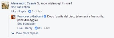Francesco Gabbani Facebook