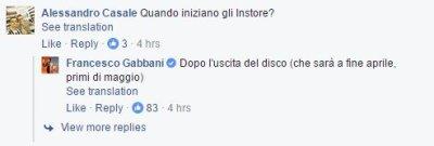 Francesco Gabbani Facebook