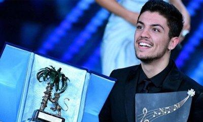 Lele é o grande vencedor da categoria Nuove Proposte no Festival de Sanremo  ... 4a743f7f3bb1f