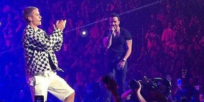 Justin Bieber e Luis Fonsi cantaram Despacito juntos em Porto Rico