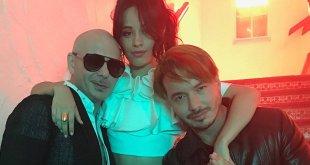 Pitbull, Camila Cabello e J Balvin lançaram a versão em inglês de Hey Ma