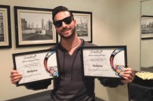 Maluma recebe prêmios do LatinPop Brasil