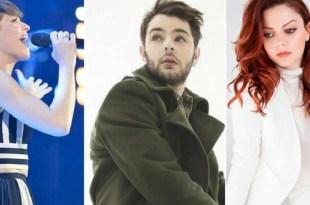 Alessandra Amoroso, Lorenzo Fragola e Annalisa estão entre os representantes ideais da Itália no Eurovision 2018