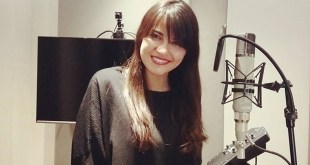 Maite Perroni já está gravando o novo single, Bailemos