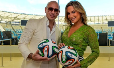 Claudia Leitte grava novo single com Pitbull