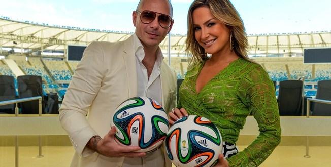 Claudia Leitte grava novo single com Pitbull