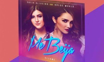 Dulce Maria é a convidada de Sofia Oliveira no single Me Beija