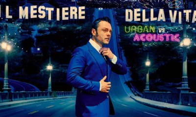 O Tiziano Ferro reeditou o disco Il Mestiere Della Vita em versões acústica e urbana