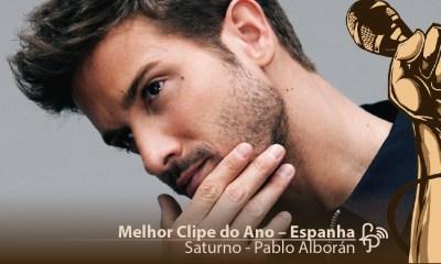 Melhor Clipe do Ano Espanha - Pablo Alborán - Saturno