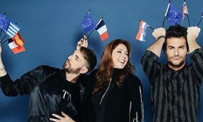 Christophe, Isabelle e Amir, o júri do Destination Eurovision