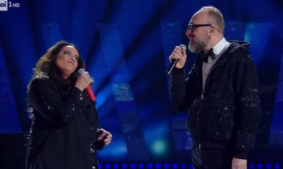 Ana Carolina foi a convidada de Mario Biondi no Festival de Sanremo