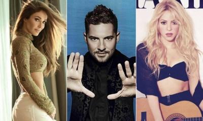 Anahi, David Bisbal e Shakira são apenas alguns dos artistas latinos que apostam em covers de outros artistas latinos
