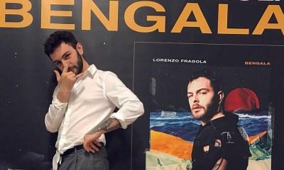 Bengala é o terceiro disco do Lorenzo Fragola