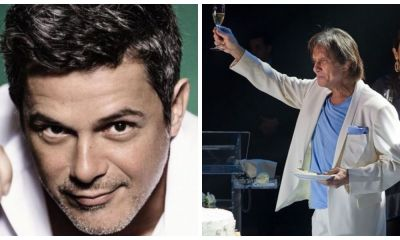 Alejandro Sanz grava parceria inédita com Roberto Carlos