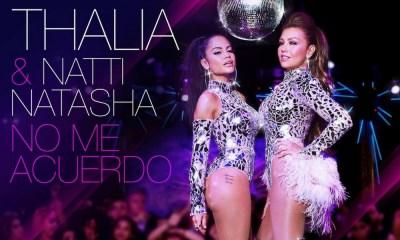 No Me Acuerdo é a colaboração de Thalia e Natti Natasha