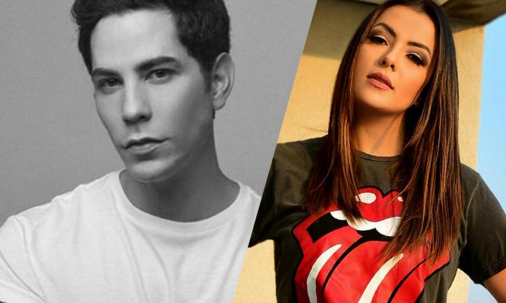 Li Martins, do Rouge, fará uma participação no novo disco de Christian Chávez, ex RBD