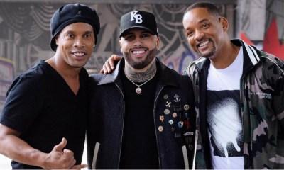 Ronaldinho Gaúcho participa do videoclipe de Live It Up, hino oficial da Copa do Mundo da Rússia cantado por Nicky Jam, Era Istrefi e Will Smith