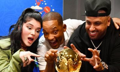 NIcky Jam, Will Smith e Eri Strefi cobiçam a taça