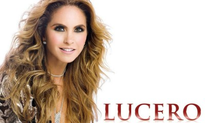 Lucero está afastada do Brasil desde o fim da novela Carinha de Anjo