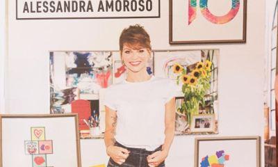 Alessandra Amoroso celebra 10 anos de carreira com IO