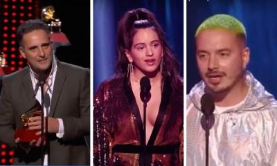 Sem ganhador claro, Grammy Latino 2018 premiou Jorge Drexler, Rosalía e J Balvin