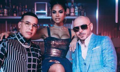 Daddy Yankee, Natti Natasha e Pitbull: olha esse trio!