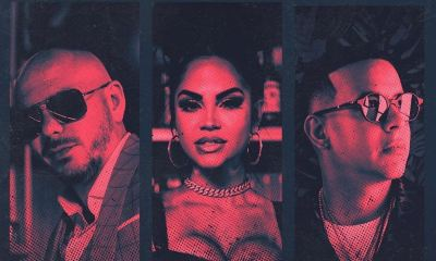Pitbull, Natti Natasha e Daddy Yankee: que trio!