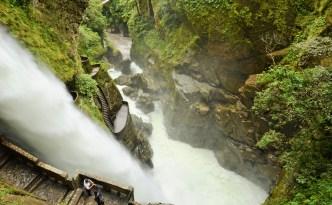 Pailon del Diablo, Ecuador, Banos